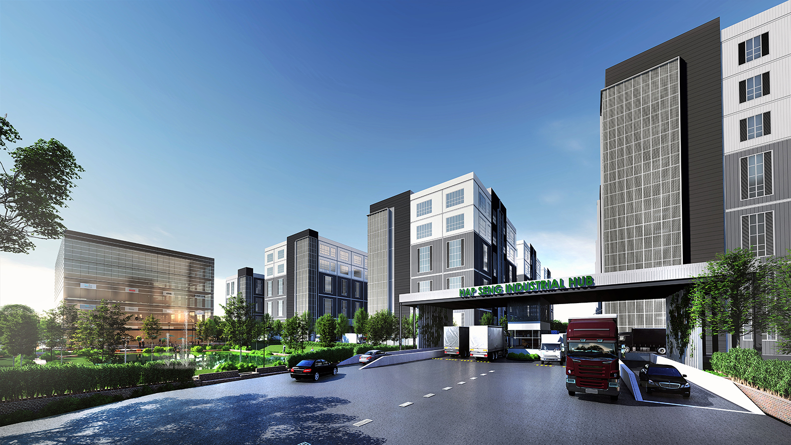 The Key Features of Hap Seng Industrial Hub