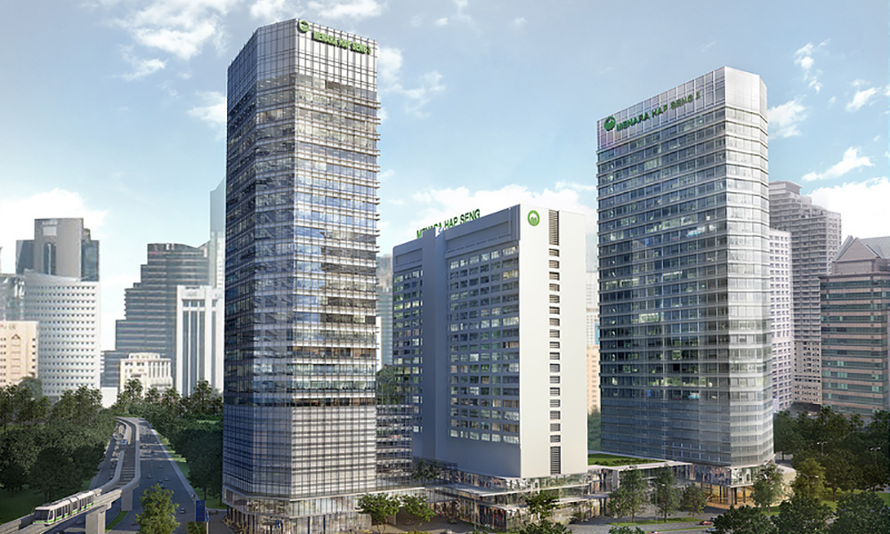 The Three Towers Of Plaza Hap Seng